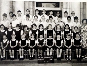 Warren Rodwell : 3rd row / 1st on right 1967 aged 9 @ Tamworth West Public School NSW