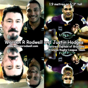 - a Warren Rodwell and Justin Hodges